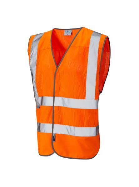 Arlington ISO 20471 Class 2 Coolviz Waistcoat Orange