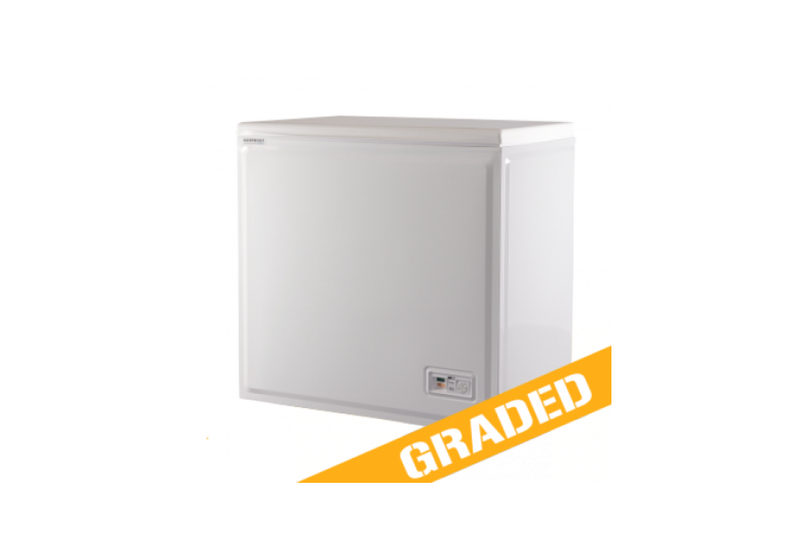 Norfrost By Ebac 179 Litre White Chest Freezer - GRADED