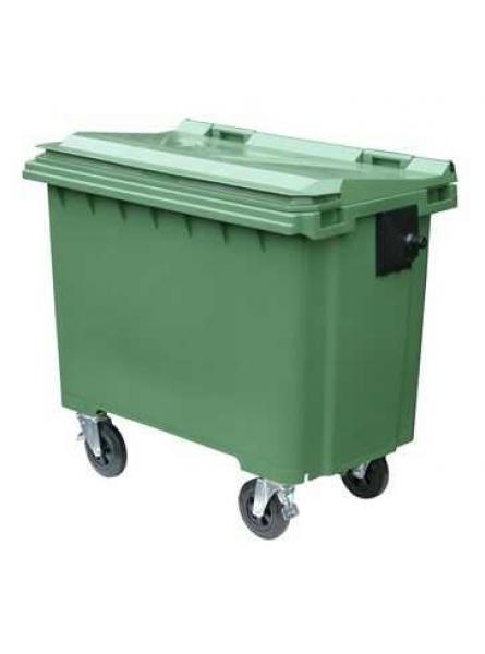 1100 Litre Wheeled Bins. Green