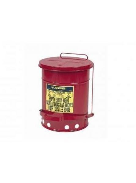 52L Oil Waste Containers With Foot Operated Lid