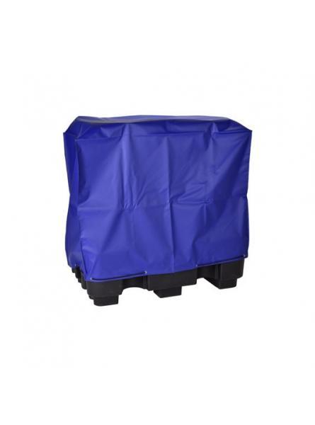 Double IBC Sump Pallet PVC Cover