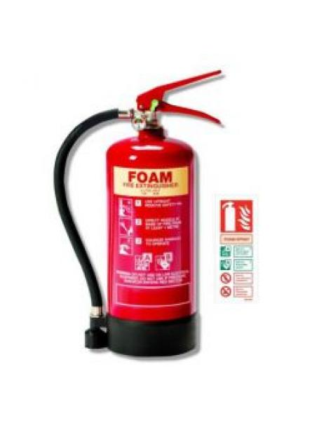 3 litre foam fire extinguisher with LPCB Approval