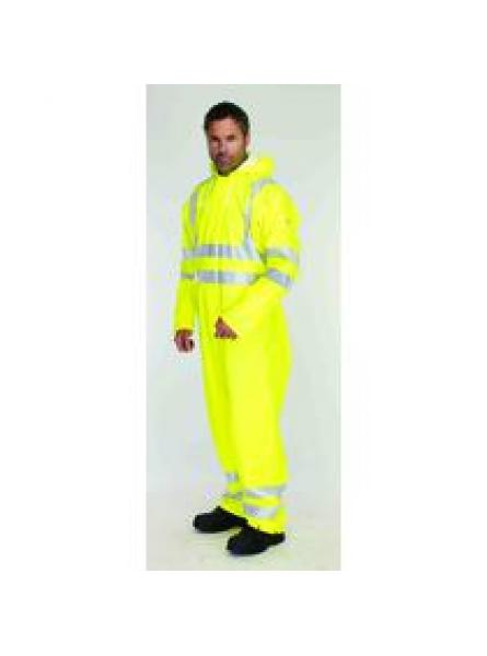 Sioen Flexothane Classic EN 471 High Visibility Waterproof Coverall