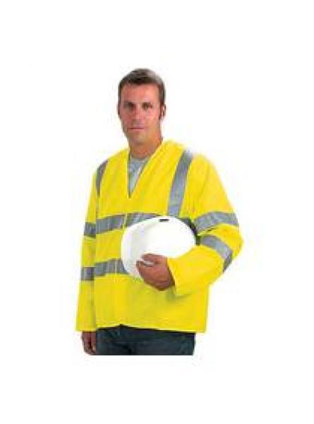 Keep Safe High Visibility EN 471 Sleeved Waistcoat