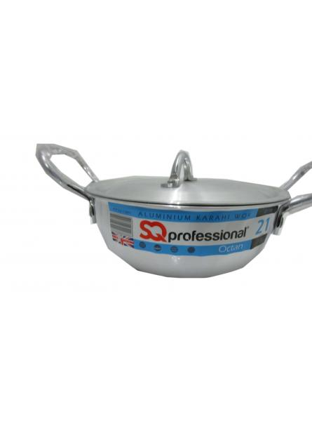 21Cm-3.0L Aluminium Karahi With Lid Cookware  Karahi Pot And Pan