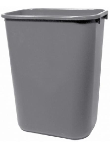 39 Ltr Grey Lge Capacity Waste Basket Per 12