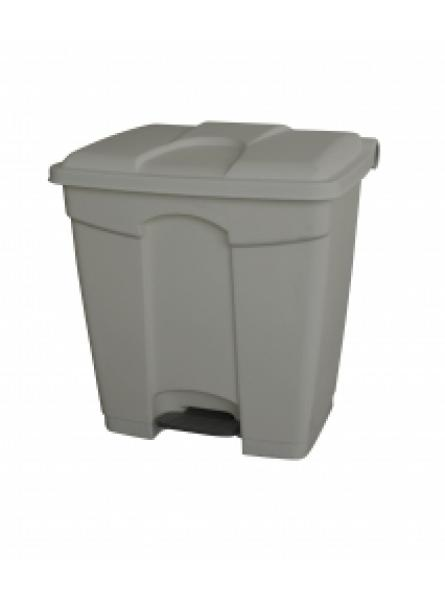 30l Step On Container All Grey