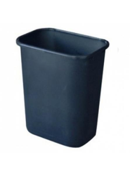 Waste Baskets 14.5L - 42.7L, Black