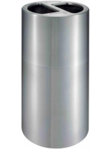 120l Recycling Aluminium Bin 60/60l Plastic Liner
