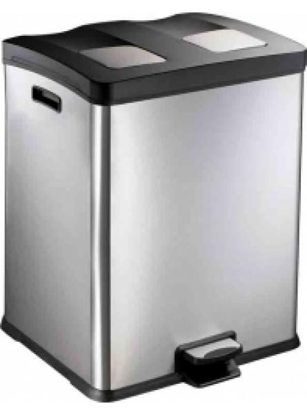60l Recycle Pedal Bin 30/30l Liners Soft Close