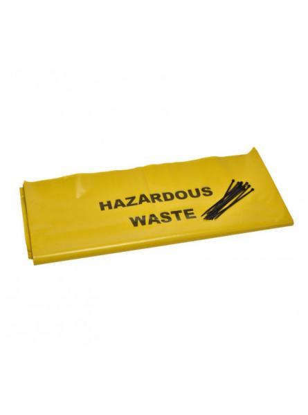 10 Hazardous waste disposal bags