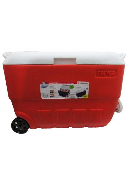 Princeware Chill Insulated Ice Box (50 Litres) - Red