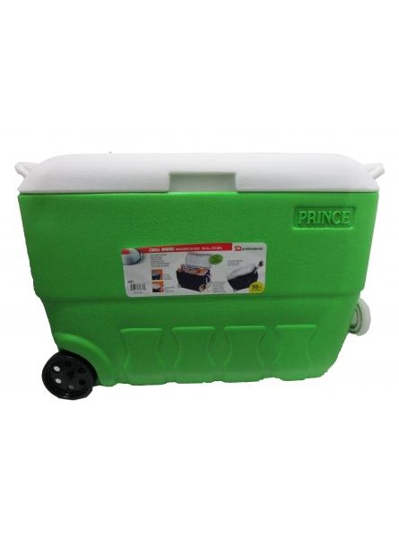 Princeware Chill Insulated Ice Box (50 Litres) - Green