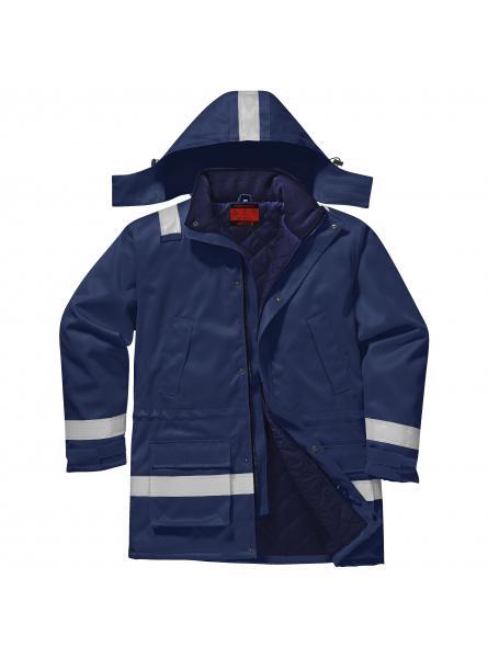 AF82 > Araflame Insulated Jacket > Navy