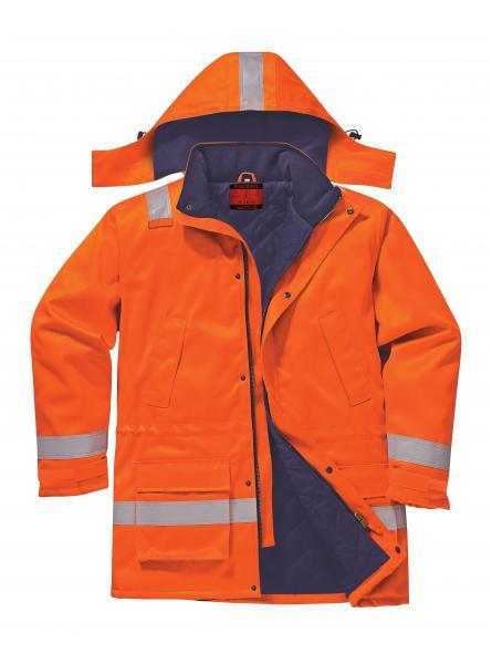 AF82 > Araflame Insulated Jacket > Orange