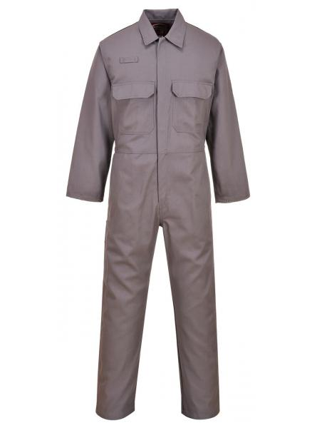 Bizweld Flame Resistant Coverall Grey