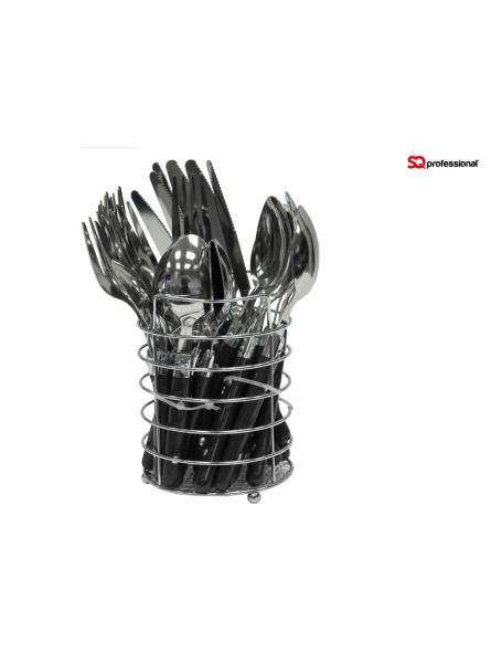 Cutlery Set Stainless Steel-Black