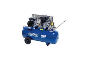 100L 230V 3.0hp (2.2kW) Belt-Driven Air Compressor