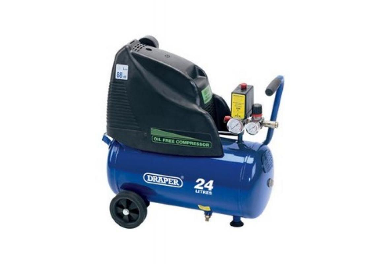 24L 230V 1.5hp (1.1kW) Oil-Free Air Compressor