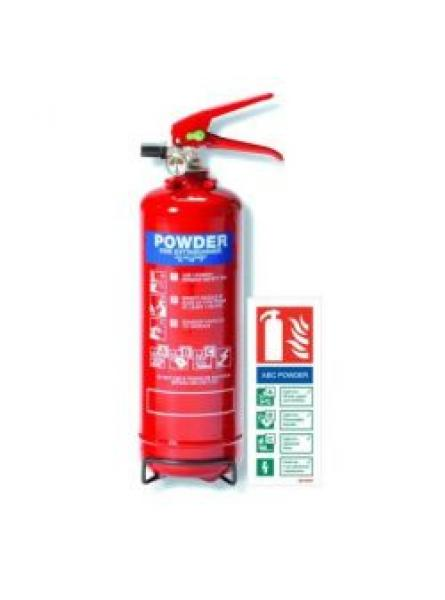 2kg powder fire extinguisher with LPCB Approval