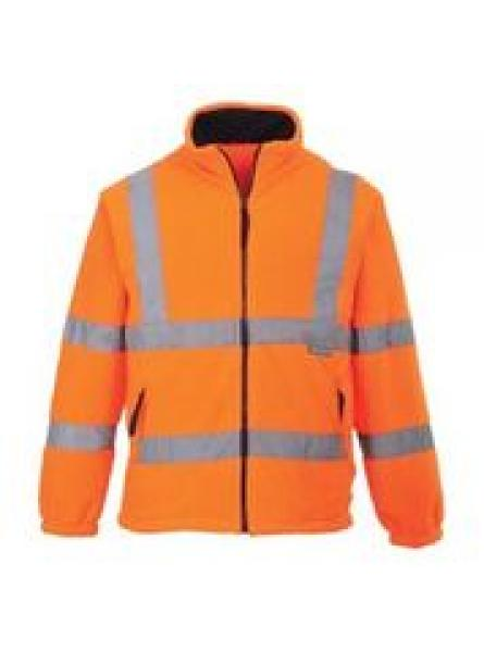 F300 Hi Vis Mesh Lined Fleece ( Orange )