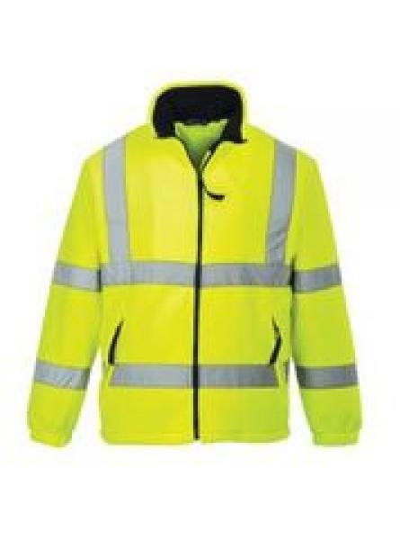 F300 Hi Vis Mesh Lined Fleece (Yellow )