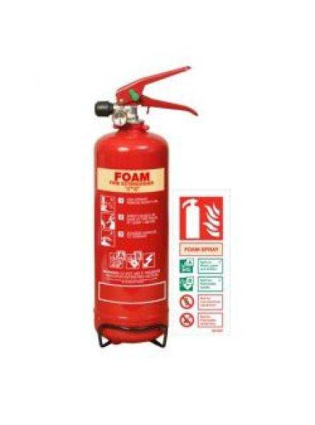 2 litre foam fire extinguisher with LPCB Approval