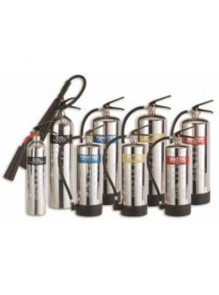 5kg Polished Aluminium Co2 Fire Extinguisher