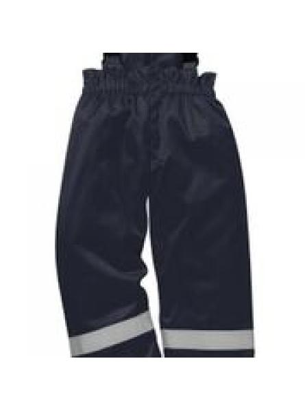 FR Anti Static Winter Salopettes Navy
