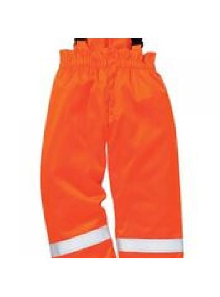 FR Anti Static Winter Salopettes Orange