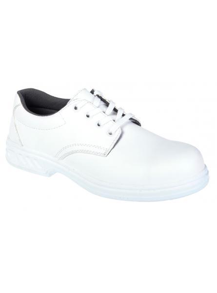 Steelite Laced Safety Shoe S2-White (FW80)