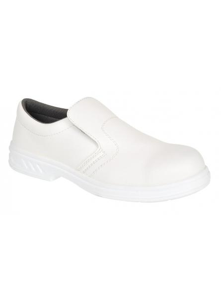Steelite Slip On Safety Shoe S2 - White