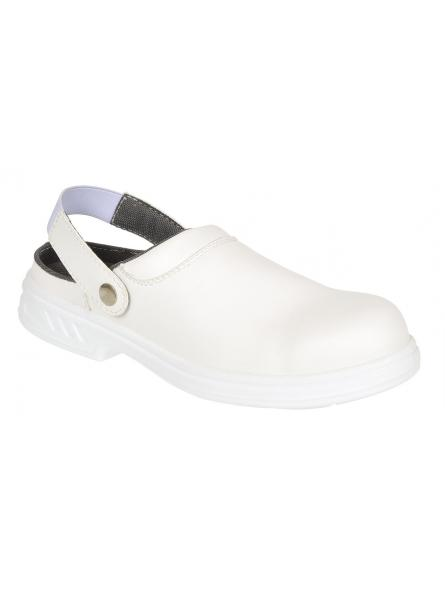 Steelite Safety Clog SB AE WRU > White