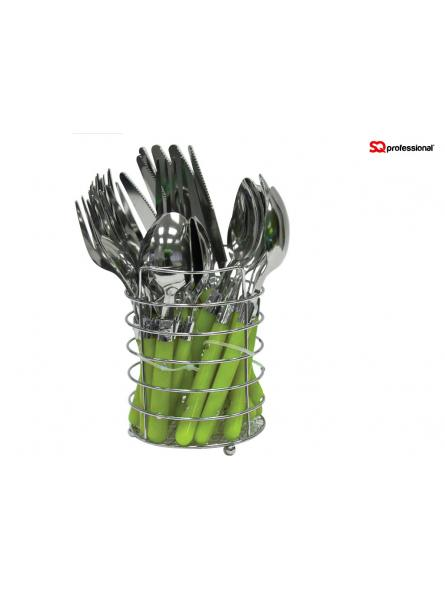Cutlery Set Stainless Steel-Green