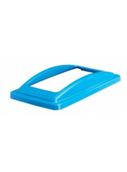 Open Lid for Slimline Bins Blue