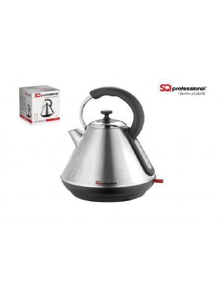 SQPro Dainty Electric Cordless Kettle Fast Boil 1.8L 2200W – ( Quartz ) Silver