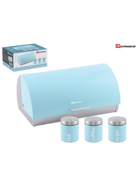 Bread Bins And Canisters – Light Blue ( Skyline)