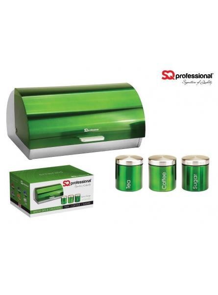 Bread Bins And Canisters– Green (Emerald)