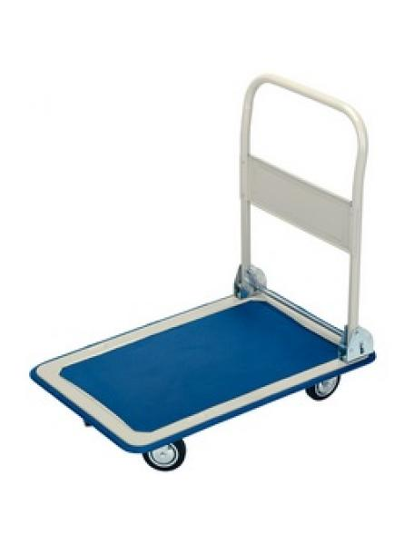 150kg Platform Trolley with Folding Handle - 630 x 480 x 850mm