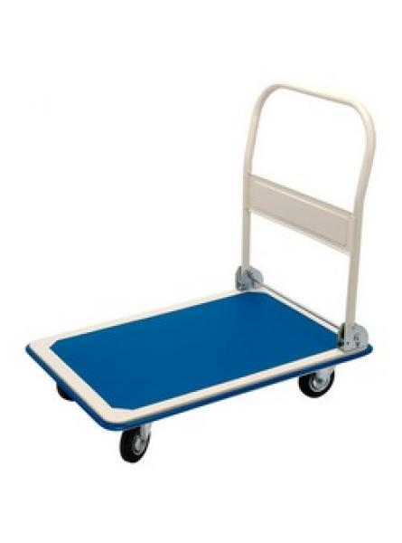300kg Platform Trolley with Folding Handle - 900 x 600 x 850mm
