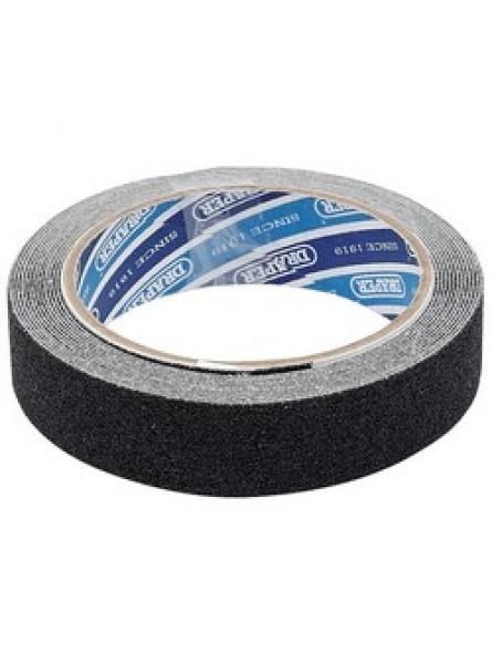 3.7M x 25mm Black Heavy Duty Safety Grip Tape Roll