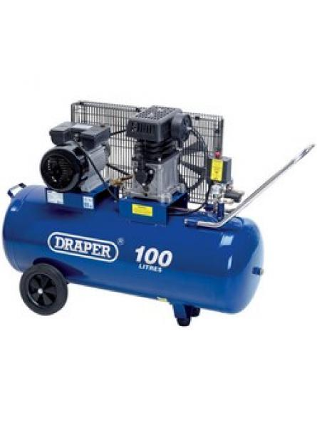 100L 230V 3.0hp (2.2kW) Belt-Driven Air Compressor