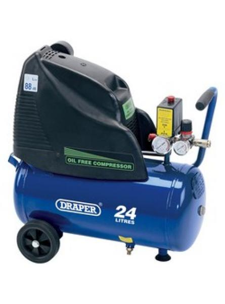 24L 230V 1.5hp (1.1kW) Oil-Free Air Compressor