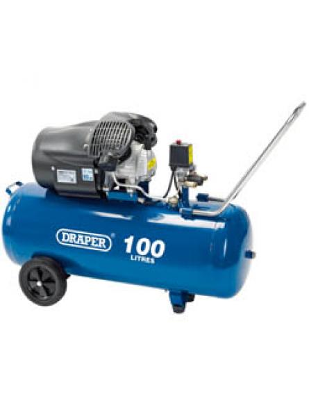 100L 230V 3.0hp (2.2kW) V-Twin Air Compressor