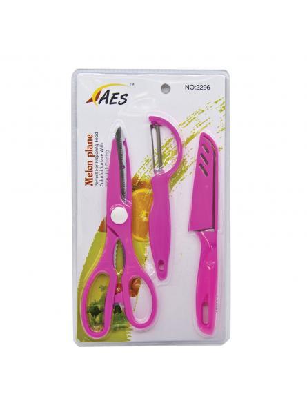 Kitchen scissors and knife pack