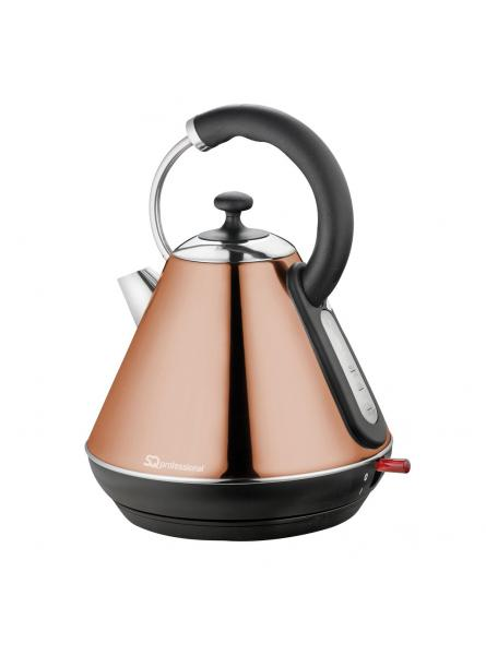 Axinite Cordless Electric Kettle, Fast Boil, 2200w 1.8l - Copper