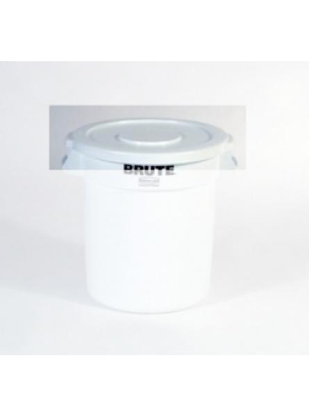 Lids To Fit Round Container Capacity 75.7-White
