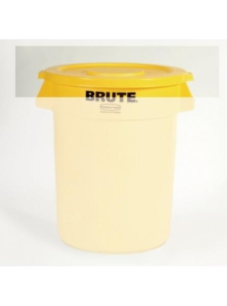 Lids To Fit Round Container Capacity 75.7-Yellow