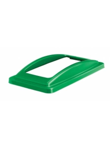 Open Lid for Slimline Bins Green