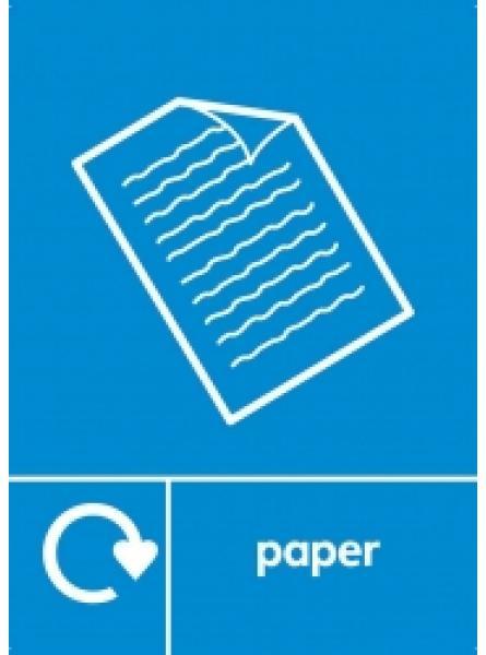 PAPER LABEL BLUE (RL-013)